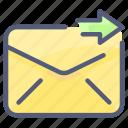envelope, letter, mail, message, send