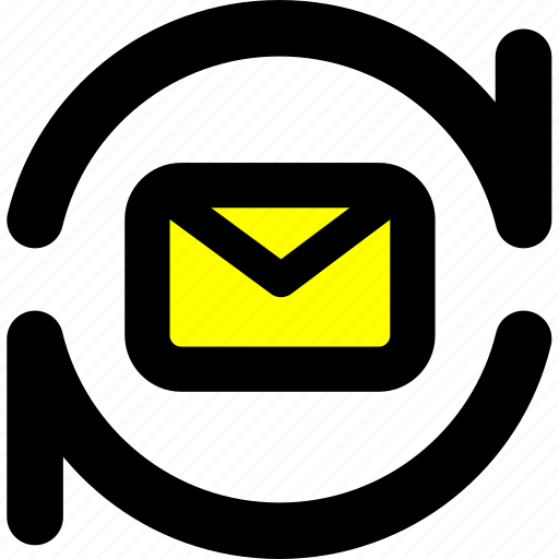 email, mail, receive mail icon