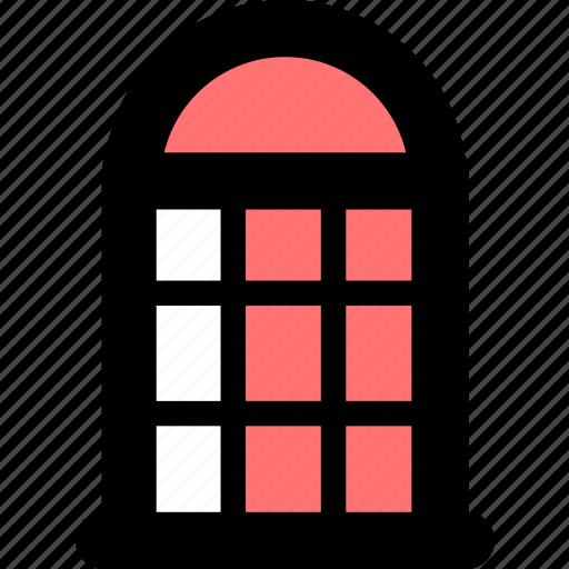 contact, postal, postal kiosk icon