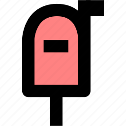contact, email, mail, mailbox, postal kiosk icon