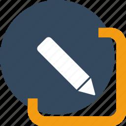 compose, create, design, drawing, edit, pencil, write icon