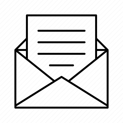 delivery, envelope, letter, mail, postal, service icon