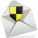 anti, document, email, letter, logo, post, virus icon