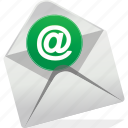 at, communication, contact, email, envelope, logo icon