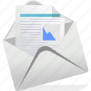 document, email, logo icon