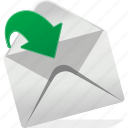 arrow, arrows, email, envelope, logo, open icon