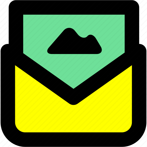 attachment, contact, email, letter, mail icon