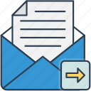 email, mail, send, sent icon icon