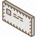 air, iso, isometric, mail, post