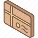 iso, isometric, mail, parcel, post