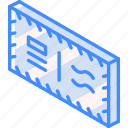 air, iso, isometric, mail, post icon
