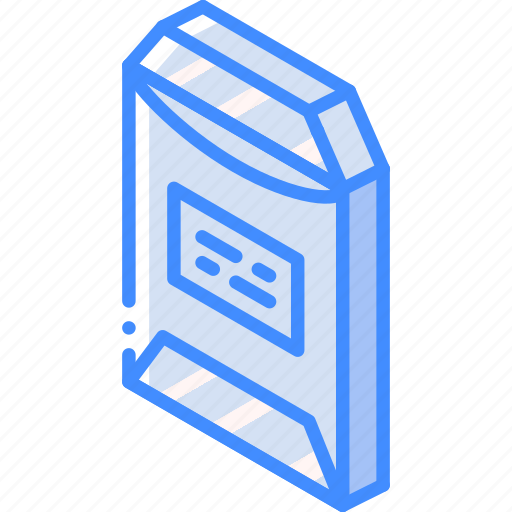 envelope, iso, isometric, mail, open, post icon