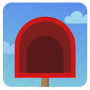 empty, mail, mailbox, post, postbox icon