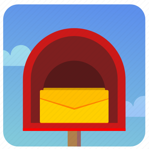 letter, mail, mailbox, open, post, postbox icon