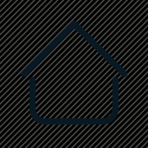begin, building, home, house, menu icon