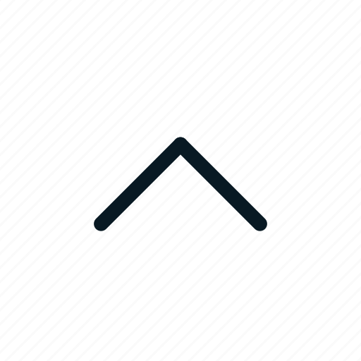 arrow, close, direction, up icon