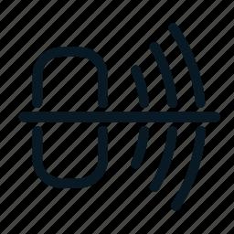 audio, multimedia, music, mute, no sound, volume icon