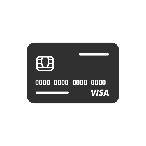 Atm card, credit card, debit card, visa icon - Free download