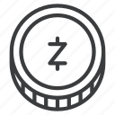 cryptocurrency, digital, zcash, zec