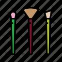 beauty, brush set, cosmetics, makeup brush, makeup kit, women