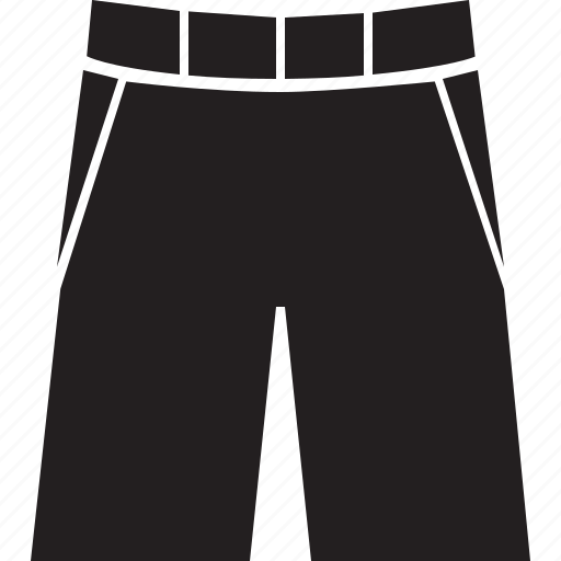 clothes, clothing, pants, shorts icon