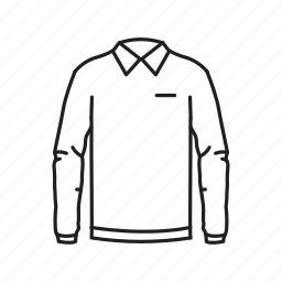 collared shirt, long sleeve shirt, male clothes, male shirt, male sweater, shirt, sweater icon