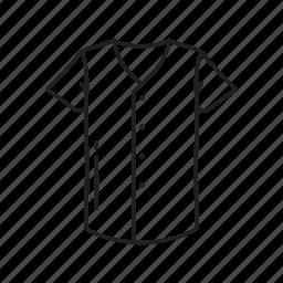 baseball shirt, clothes, male baseball shirt, male clothes, male shirt, shirt, sports shirt icon