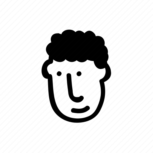 avatar, face, hairstyle, head, human, person, userpic icon