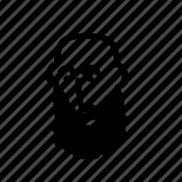 avatar, beard, bearded, face, head, hipster, human icon