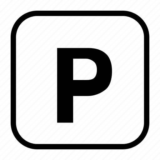 mall, p, park, parking, spot, stop, vehicle icon