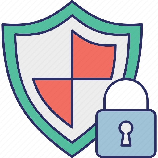 cybersecurity, encryption, locked, protection icon