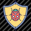 anti malware, antivirus, antivirus protection, virus security icon