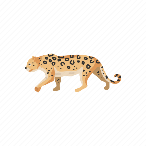 animal, big cat, feline, leopard, mammal, panther, wild cat icon