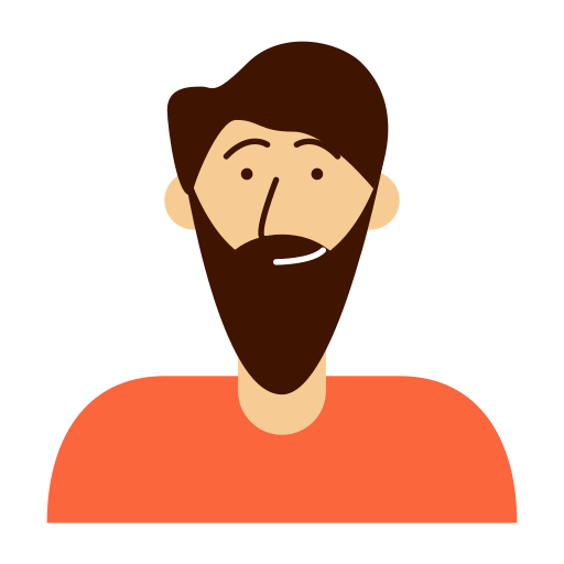 Avatar, beard, man, person icon - Free download