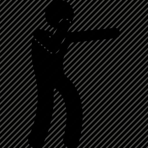 man, punch, punching, stick figure, stickman icon