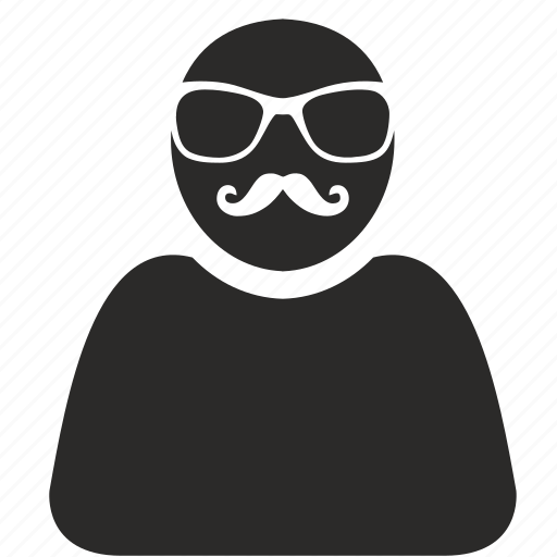 avatar, fashion, hipster, login, man icon