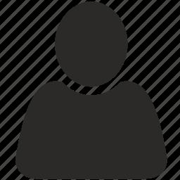 human, login, man, person icon
