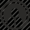 avatar, login, man, office, person, tie icon