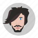 avatar, beard, free, hair, man, style icon
