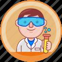 business, chemist, job, male, man, person, profession
