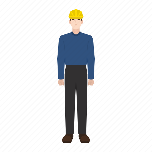 construction, employee, job, man, occupation, profession, worker icon