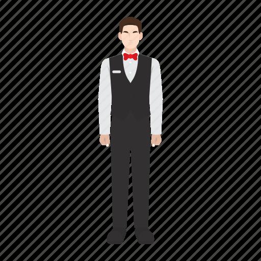 job, man, occupation, profession, restaurant, waiter, work icon