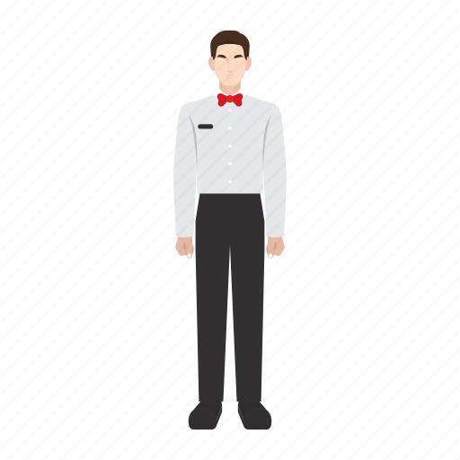 job, man, occupation, profession, restaurant, waiter, work icon