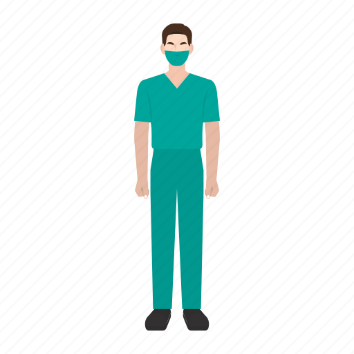doctor, man, medical, occupation, profession, surgeon, surgery icon