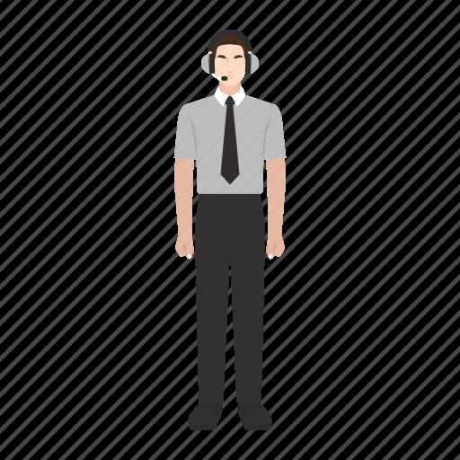 costumer, job, man, occupation, profession, service, work icon