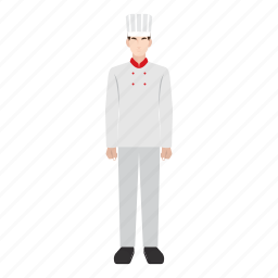 chef, job, man, occupation, profession, restaurant, work icon