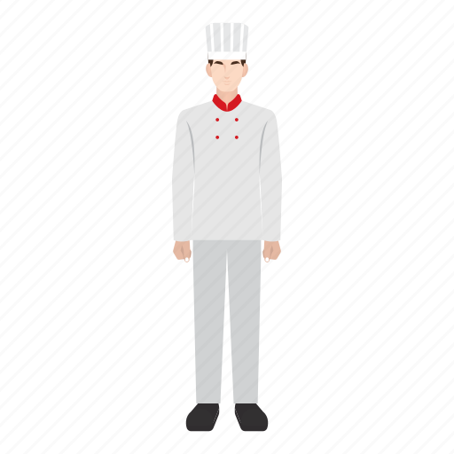 chef, job, man, occupation, profession, restaurant, work icon