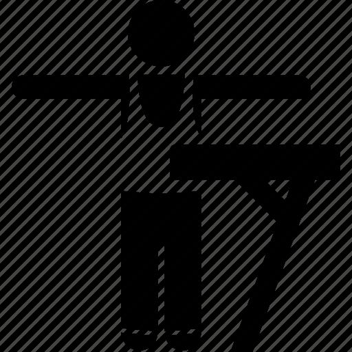 athlete, clothing, gymnastic, professional, sports, uniform, wear icon