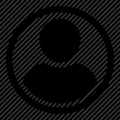 account, avatar, human, person, profile, user icon