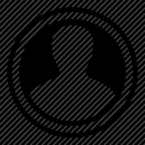 Profile, person, user icon